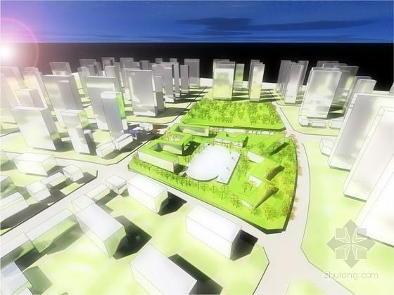[合肥]学校社区公共绿地景观规划设计方案(七个方案比选)