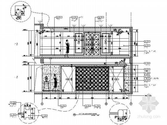 [原创]高档奢华三层房子室内装修施工图(图纸细钱一别墅的美国别墅多少平方米图片