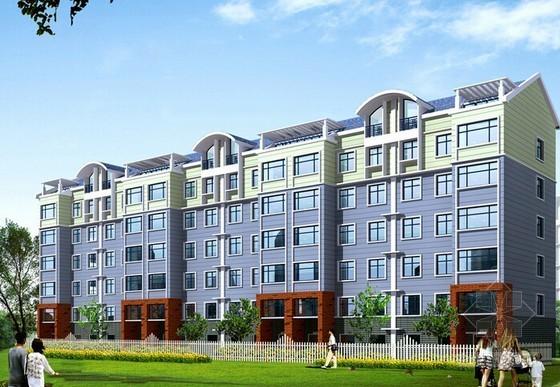 [湖南]住宅楼及配套用房建筑安装工程预算书(含全套图纸)