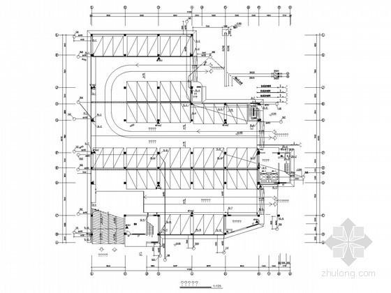 七层停车库给排水及消防施工图