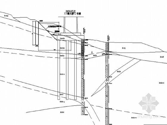 特大桥滑坡整治平面布置图及设计说明