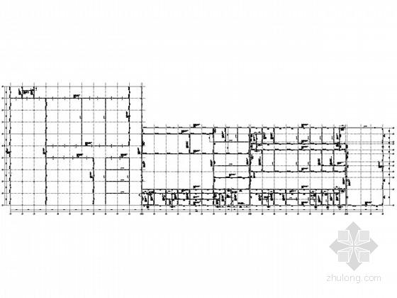 局部二层门式刚架生产车间结构施工图