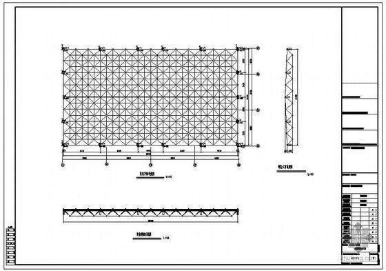 某螺栓球节点网架结构图