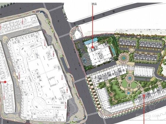 [南京]知名大型商业综合体商业广场景观概念设计方案(二)