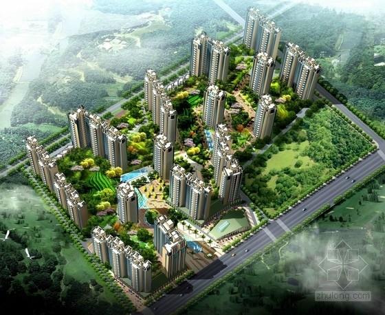[陕西]现代风格住宅区规划及单体设计方案文本