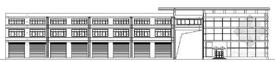 某三层综合楼建筑方案图