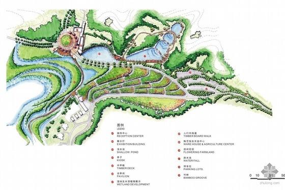 武汉风景区规划景观设计全套方案