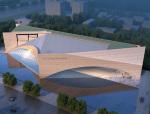 现代展览馆3D模型下载