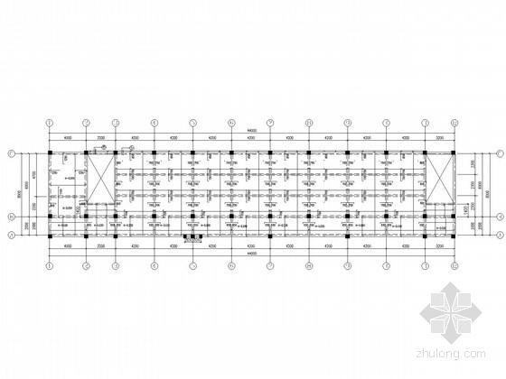 5层框架教学楼结构施工图