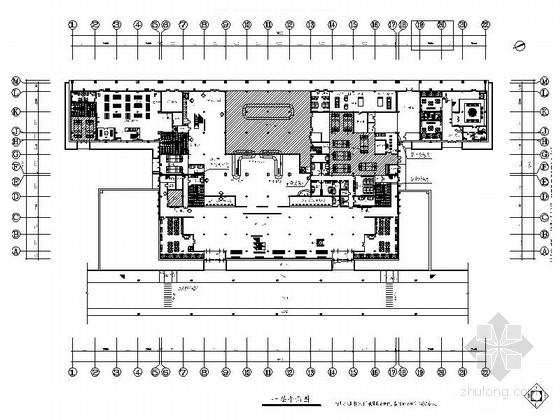 [义乌]现代民航机场扩建室内装修图(含实景效果)