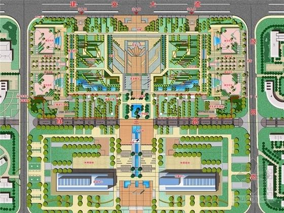 [河南]城市核心地段公园景观设计方案