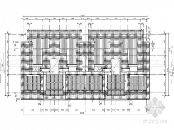 [北京]高层住宅楼太阳能热水工程给排水施工图纸(15层)