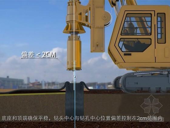 桥梁工程钻孔灌注桩标准化施工工艺三维动画演示(画面高清 细节丰富)