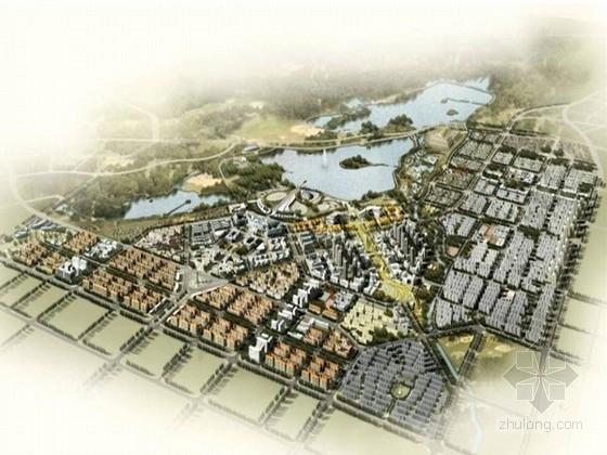 [唐山]主题滨湖中央公园景观设计方案(北京著名设计公司)