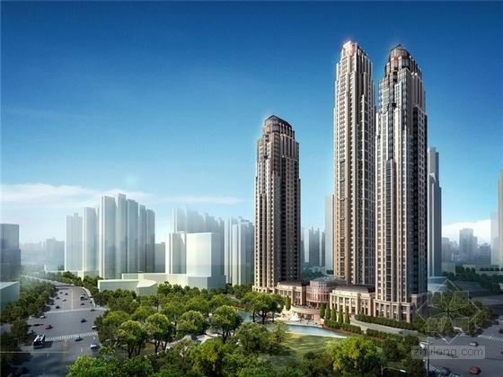 [天津]超高层欧式风格住宅设计方案文本