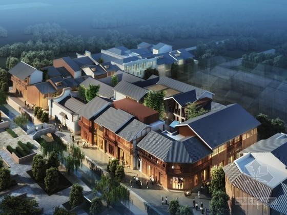 新古典商业建筑3D模型下载