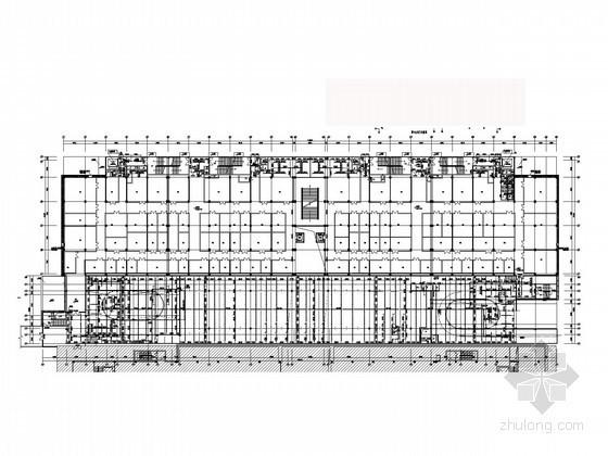[广东]艺术展览中心建筑给排水施工图(气体消防)