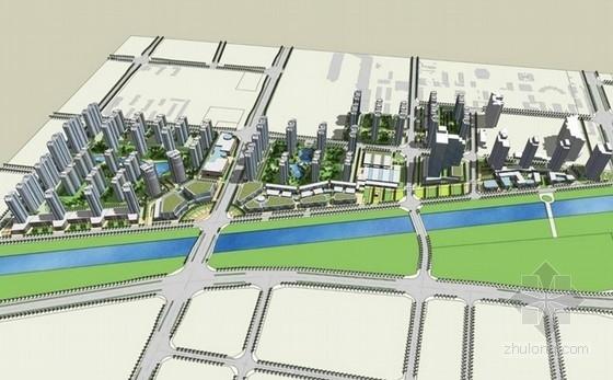 [郑州]城市综合体规划及单体设计方案文本