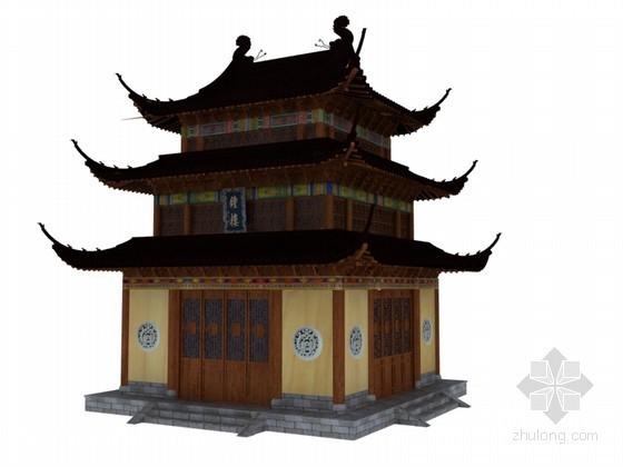 钟楼3D模型下载