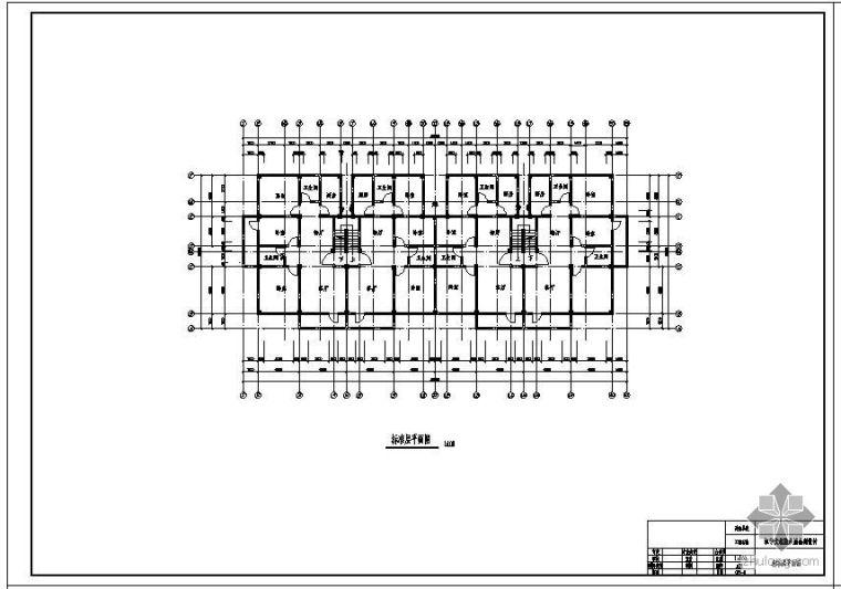 [学士]南京某六层框架公寓毕业设计(含计算书、建筑结构设计图)