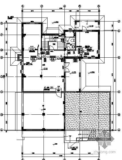 Valkenberg庄园中的住宅资料下载-某庄园住宅空调图纸