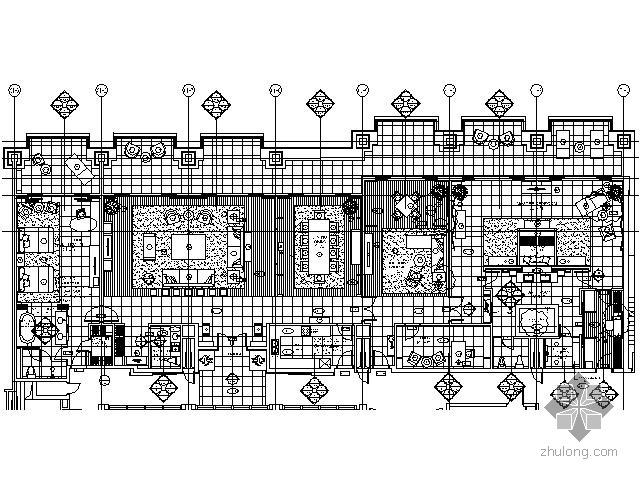 [三亚]五星酒店套房施工图