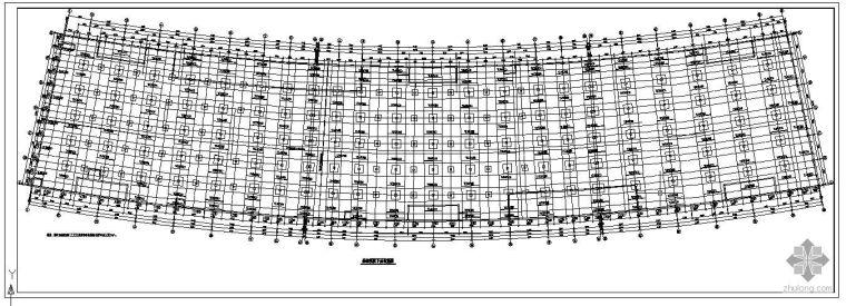 某板柱剪力墙地下二层车库结构设计图