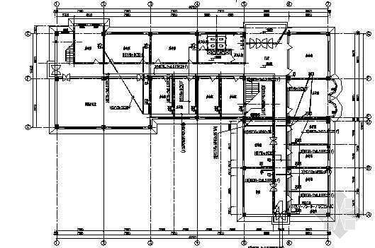 某办公楼办公室电气施工图