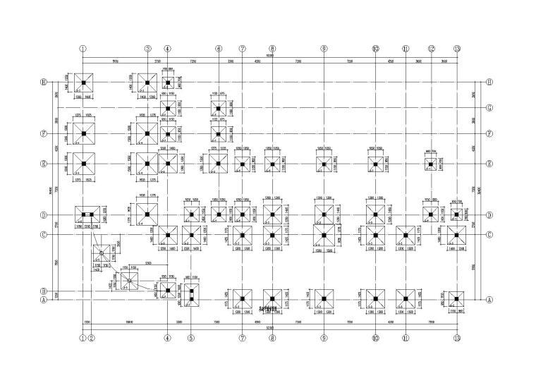 [河南]5层框架结构幼儿园建筑结构施工图(2016)