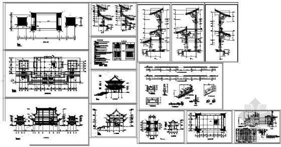 东王府殿古建成套施工图-4