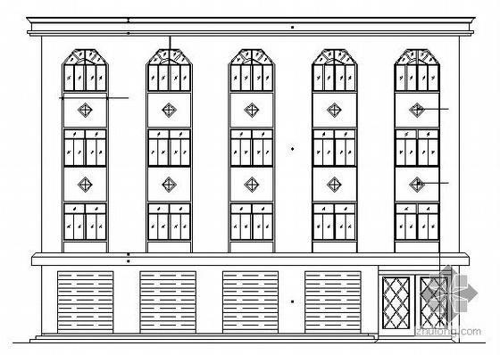 某四层商办楼建筑施工图