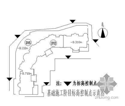 北京某房屋建筑工程测量方案