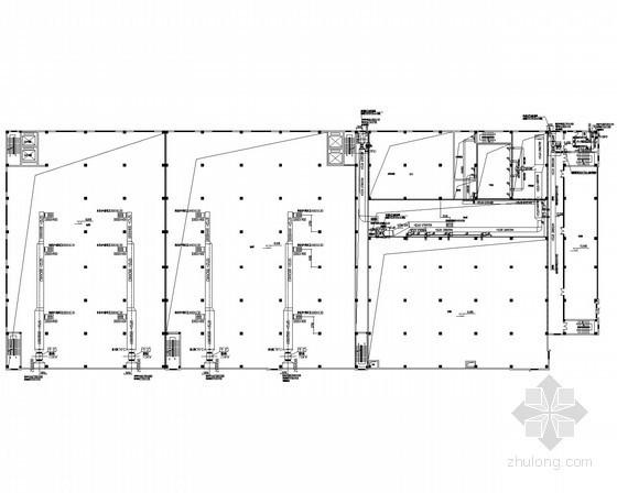 车间厂房净化及舒适性空调系统设计施工图(含空压制氮系统)
