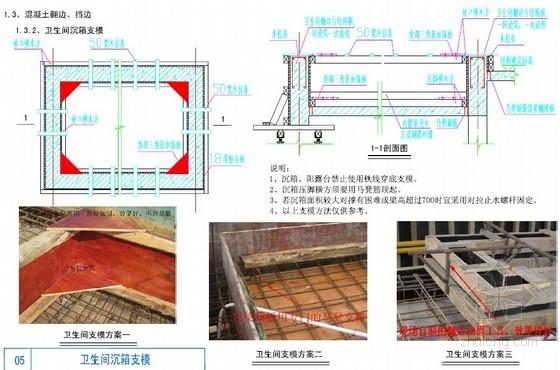 建筑工程施工防渗漏、防开裂措施手册(节点图)