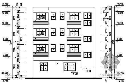 某私人别墅建筑,结构施工图带效果图