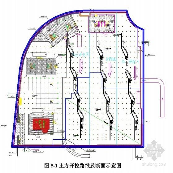[四川]高层综合楼施工组织设计(核心筒结构 筏板基础)