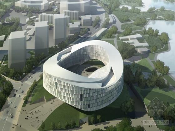 [北京]8層剪力墻結構知名傳媒中心建筑設計方案文本(國內知名建筑設計師,含CAD)