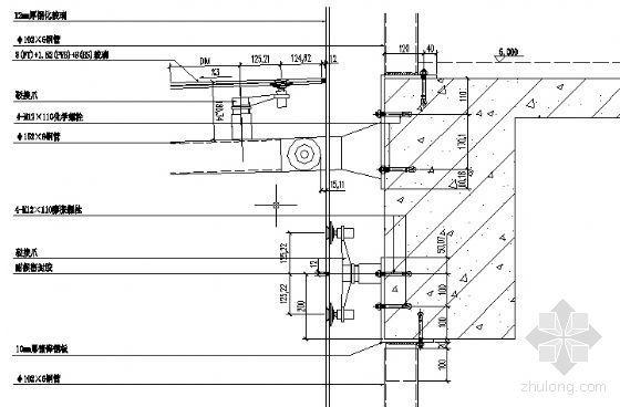 MQ1二层楼板纵剖节点图