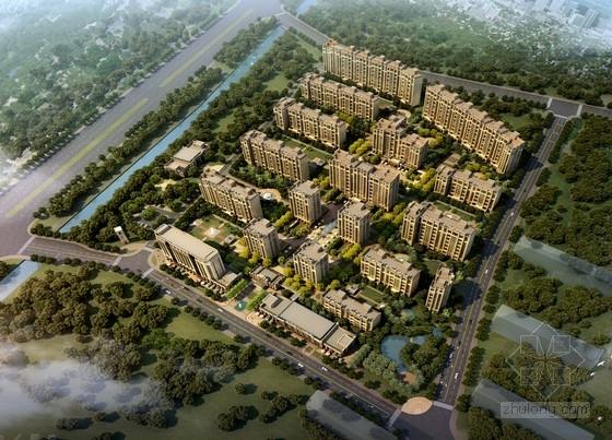 [北京]Artdeco风格高端住宅区规划设计方案文本(知名事务所)