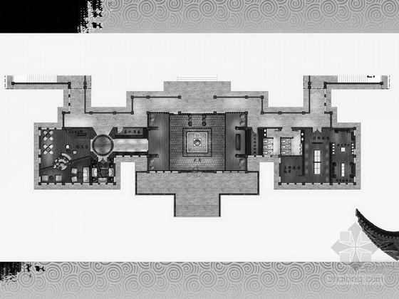 [佛山]大型综合风景区独特中式风格寺庙设计方案