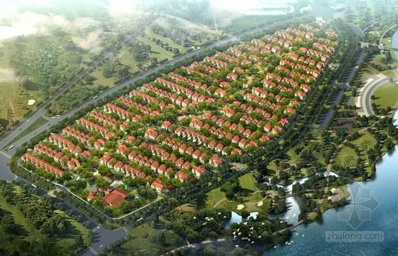[山东]欧式风格联排别墅区规划及单体设计方案文本(含ppt)