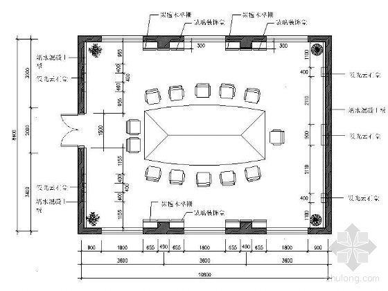 [学生作业]会议室设计图