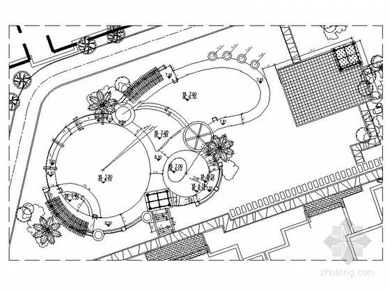 游泳池景观规划设计施工图