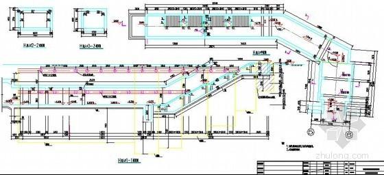 地下轨道交通工程出入口主体结构设计图