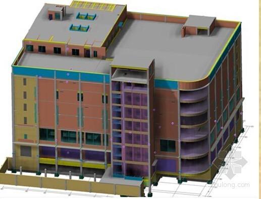 VAV中央空调建模资料下载-[湖南]综合性服务楼项目BIM应用技术指导汇报(图文讲解)