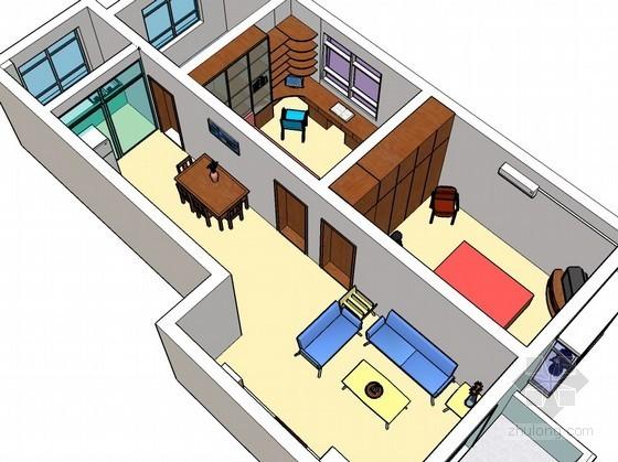 家装skp模型