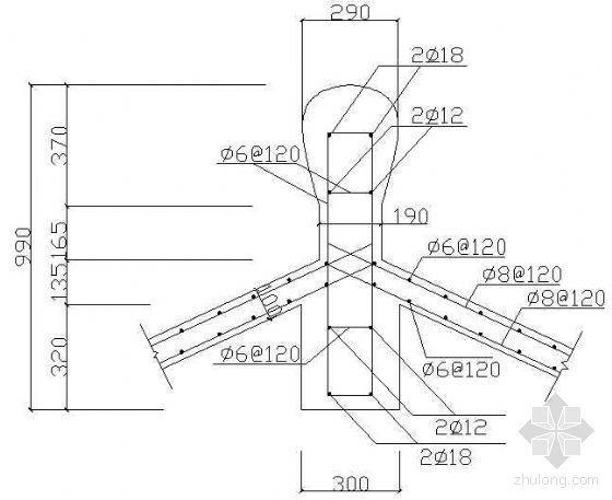 组合亭架建筑详图-3