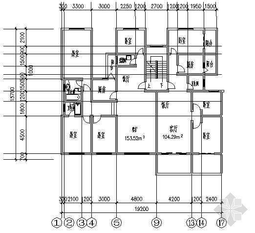 四室两厅一厨三卫153平米