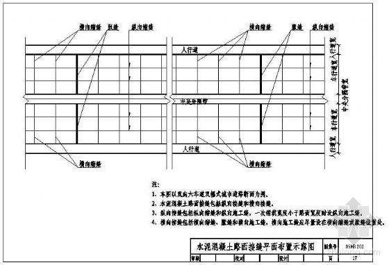 水泥混凝土路面标准图集
