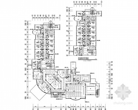 六层商业楼全套电气施工图纸